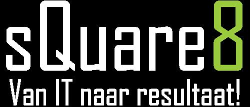 Logo sQuare8 white